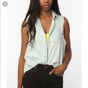 Urban Outfitters BDG Chambray Top